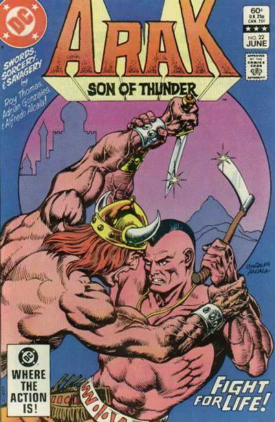 Arak/Son of Thunder #22 comic books - cover scans photos Arak/Son of Thunder #22 comic books - covers, picture gallery