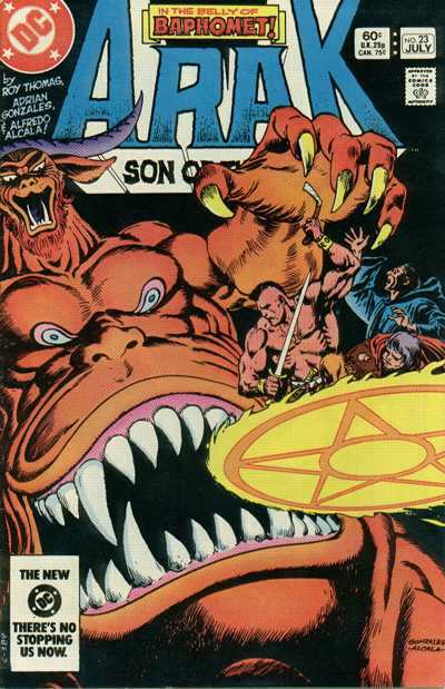 Arak/Son of Thunder #23 comic books - cover scans photos Arak/Son of Thunder #23 comic books - covers, picture gallery