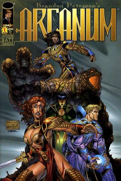 Arcanum Comic Books. Arcanum Comics.