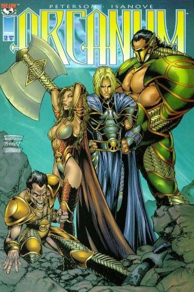 Arcanum #3 comic books - cover scans photos Arcanum #3 comic books - covers, picture gallery