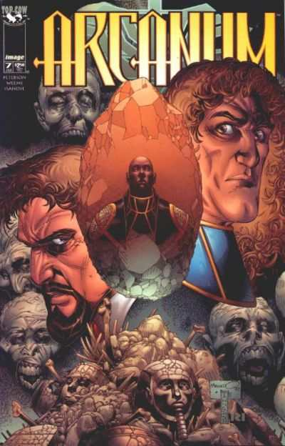 Arcanum #7 Comic Books - Covers, Scans, Photos  in Arcanum Comic Books - Covers, Scans, Gallery