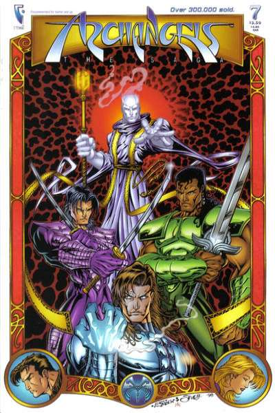 Archangels: The Saga #7 comic books for sale