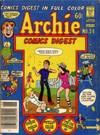 Archie Comics Digest #24 comic books - cover scans photos Archie Comics Digest #24 comic books - covers, picture gallery