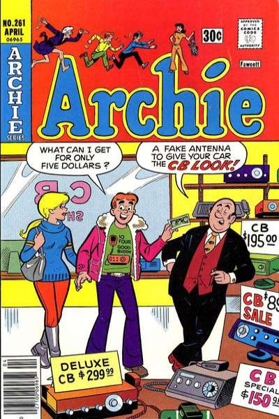 Archie Comics #261 comic books for sale