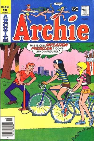 Archie Comics #266 comic books for sale