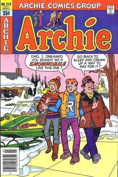 Archie Comics #278 Comic Books - Covers, Scans, Photos  in Archie Comics Comic Books - Covers, Scans, Gallery