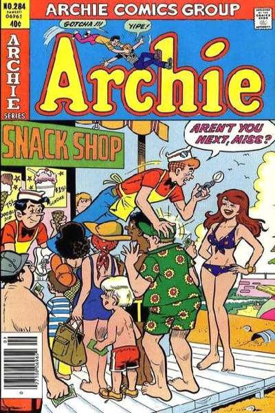 Archie Comics #284 comic books for sale