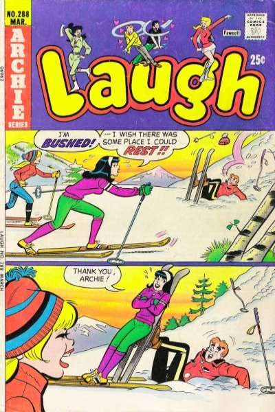 Archie Comics #288 comic books for sale