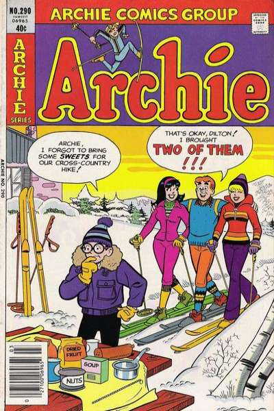 Archie Comics #290 comic books for sale