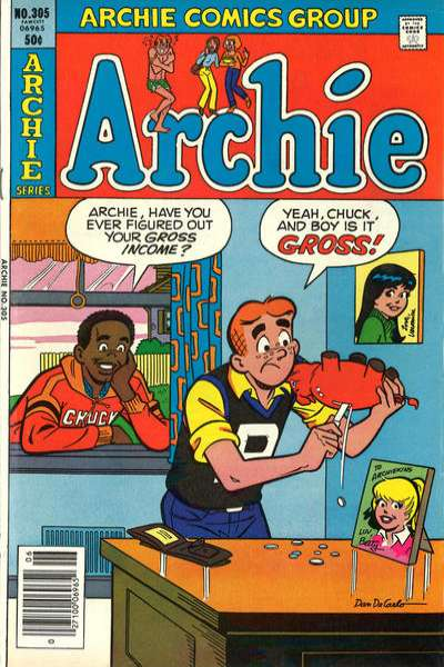 Archie Comics #305 comic books for sale