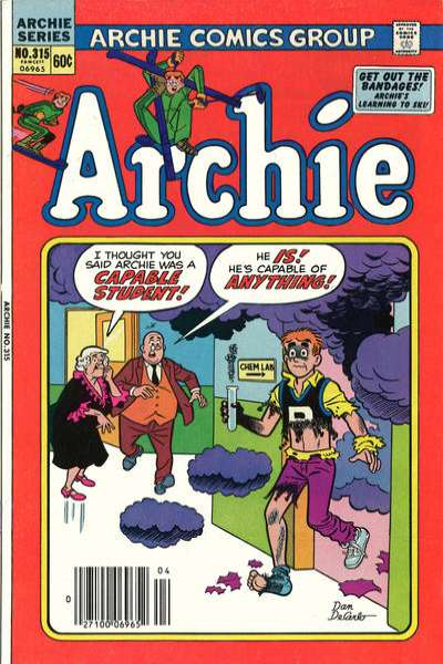 Archie Comics #315 comic books for sale