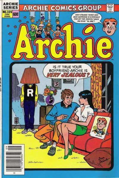 Archie Comics #325 Comic Books - Covers, Scans, Photos  in Archie Comics Comic Books - Covers, Scans, Gallery