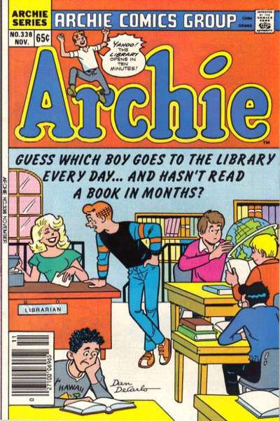 Archie Comics #338 Comic Books - Covers, Scans, Photos  in Archie Comics Comic Books - Covers, Scans, Gallery