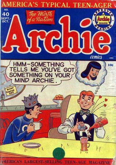 Archie Comics #40 Comic Books - Covers, Scans, Photos  in Archie Comics Comic Books - Covers, Scans, Gallery