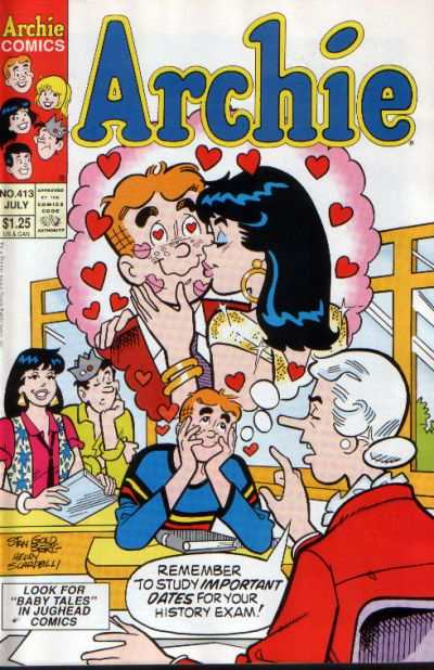 Archie Comics #413 comic books for sale