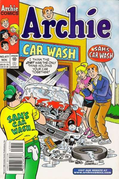 Archie Comics #477 comic books for sale