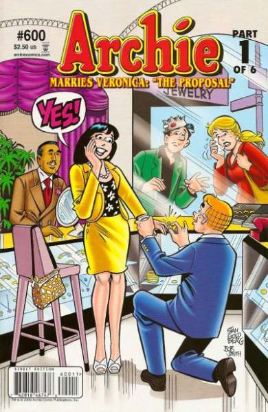 Archie Comics #600 cheap bargain discounted comic books Archie Comics #600 comic books