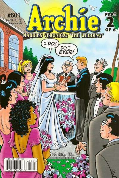Archie Comics #601 cheap bargain discounted comic books Archie Comics #601 comic books