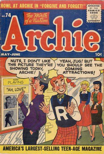Archie Comics #74 Comic Books - Covers, Scans, Photos  in Archie Comics Comic Books - Covers, Scans, Gallery