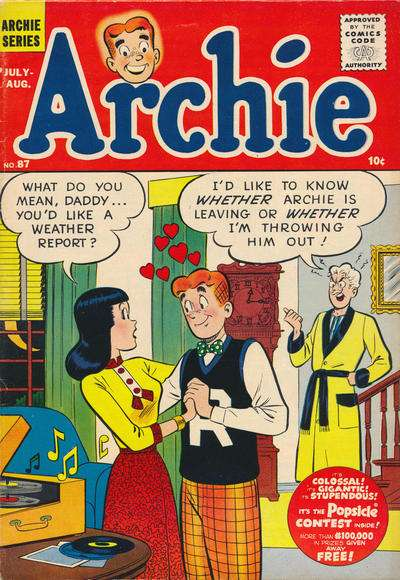 Archie Comics #87 comic books for sale