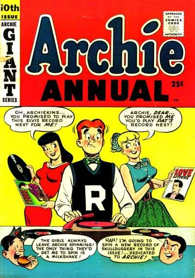 Archie Comics #10 comic books for sale