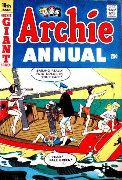 Archie Comics #18 comic books - cover scans photos Archie Comics #18 comic books - covers, picture gallery
