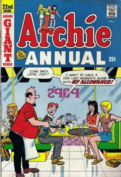 Archie Comics #22 comic books - cover scans photos Archie Comics #22 comic books - covers, picture gallery