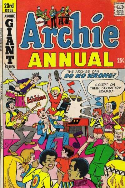 Archie Comics #23 comic books - cover scans photos Archie Comics #23 comic books - covers, picture gallery