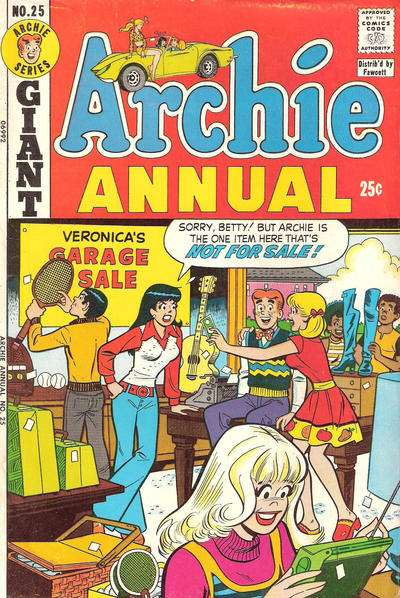 Archie Comics #25 comic books for sale