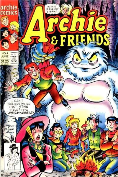 Archie & Friends #4 comic books for sale