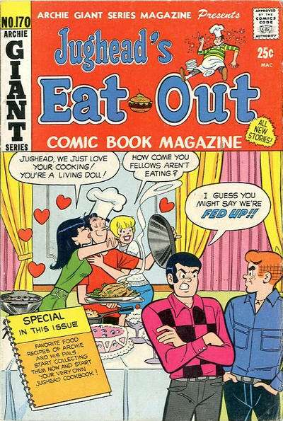Archie Giant Series Magazine #170 comic books for sale