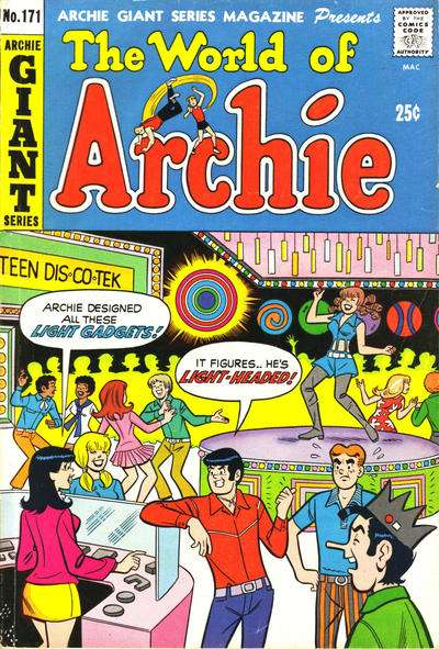 Archie Giant Series Magazine #171 Comic Books - Covers, Scans, Photos  in Archie Giant Series Magazine Comic Books - Covers, Scans, Gallery