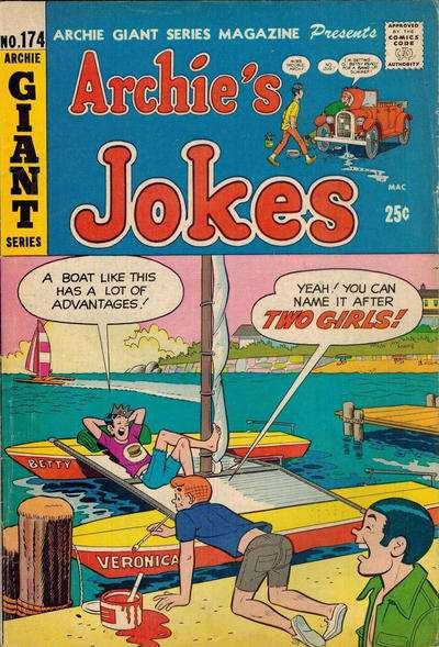 Archie Giant Series Magazine #174 comic books for sale