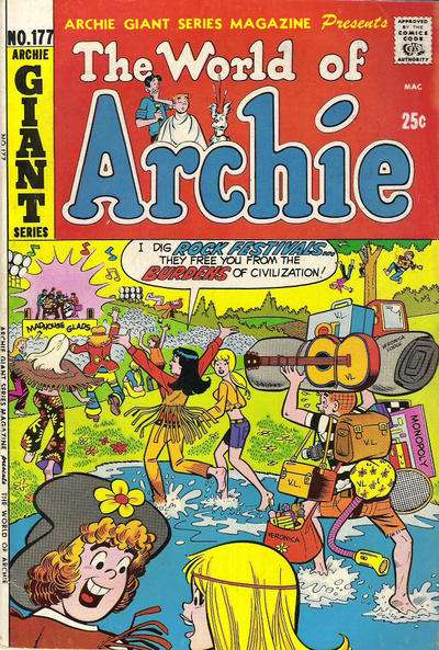 Archie Giant Series Magazine #177 comic books - cover scans photos Archie Giant Series Magazine #177 comic books - covers, picture gallery