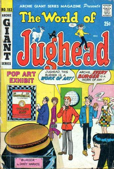 Archie Giant Series Magazine #183 comic books for sale