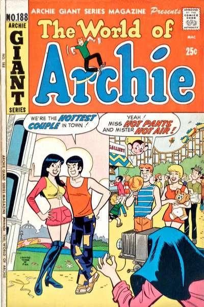 Archie Giant Series Magazine #188 comic books for sale