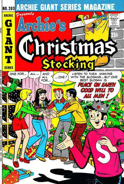 Archie Giant Series Magazine #203 Comic Books - Covers, Scans, Photos  in Archie Giant Series Magazine Comic Books - Covers, Scans, Gallery