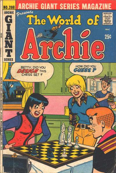 Archie Giant Series Magazine #208 Comic Books - Covers, Scans, Photos  in Archie Giant Series Magazine Comic Books - Covers, Scans, Gallery