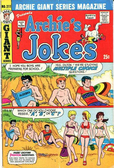Archie Giant Series Magazine #211 comic books for sale