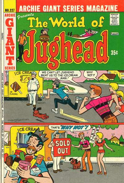 Archie Giant Series Magazine #227 comic books for sale