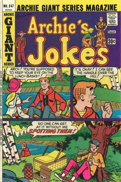Archie Giant Series Magazine #247 comic books for sale
