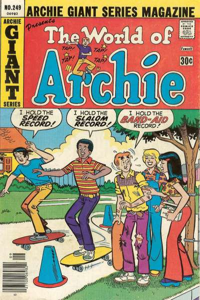 Archie Giant Series Magazine #249 comic books - cover scans photos Archie Giant Series Magazine #249 comic books - covers, picture gallery