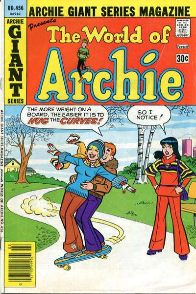 Archie Giant Series Magazine #456 comic books for sale