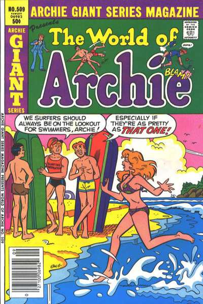 Archie Giant Series Magazine #509 comic books for sale