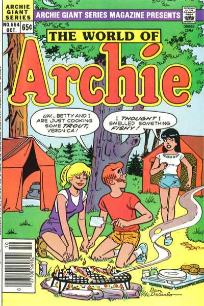 Archie Giant Series Magazine #554 Comic Books - Covers, Scans, Photos  in Archie Giant Series Magazine Comic Books - Covers, Scans, Gallery