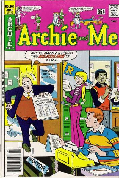 Archie and Me #101 Comic Books - Covers, Scans, Photos  in Archie and Me Comic Books - Covers, Scans, Gallery