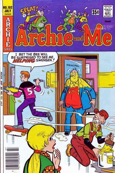 Archie and Me #102 Comic Books - Covers, Scans, Photos  in Archie and Me Comic Books - Covers, Scans, Gallery