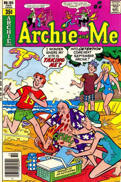 Archie and Me #105 Comic Books - Covers, Scans, Photos  in Archie and Me Comic Books - Covers, Scans, Gallery