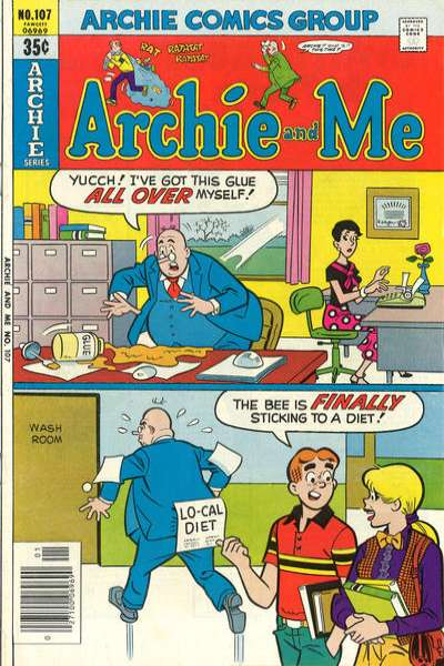 Archie and Me #107 Comic Books - Covers, Scans, Photos  in Archie and Me Comic Books - Covers, Scans, Gallery