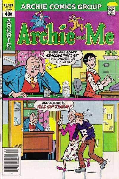 Archie and Me #109 Comic Books - Covers, Scans, Photos  in Archie and Me Comic Books - Covers, Scans, Gallery